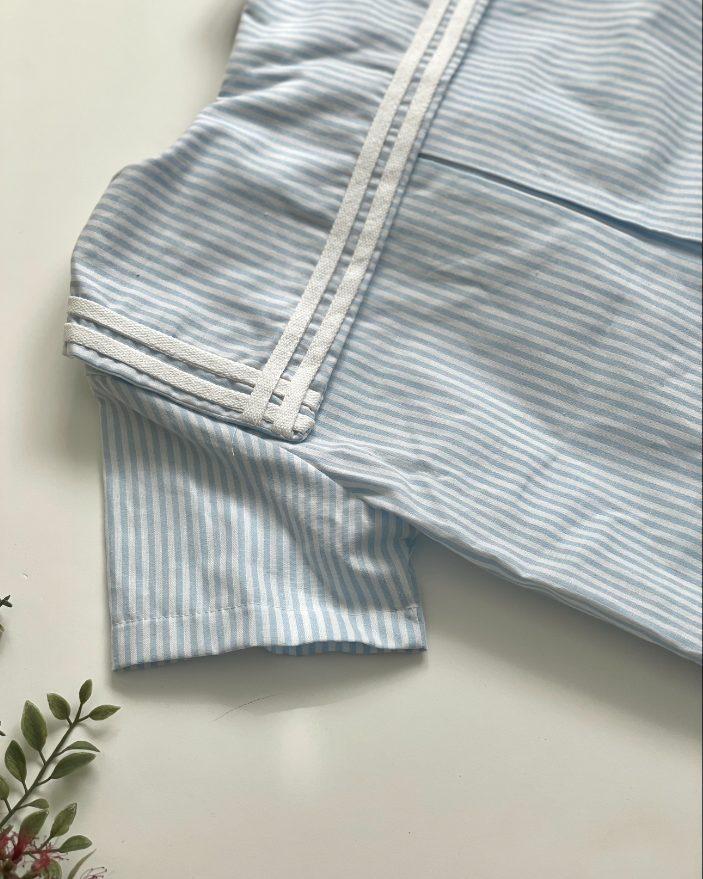 camisa marinera niño- cuello