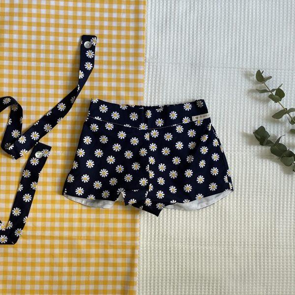 pantalón corto bebé niña